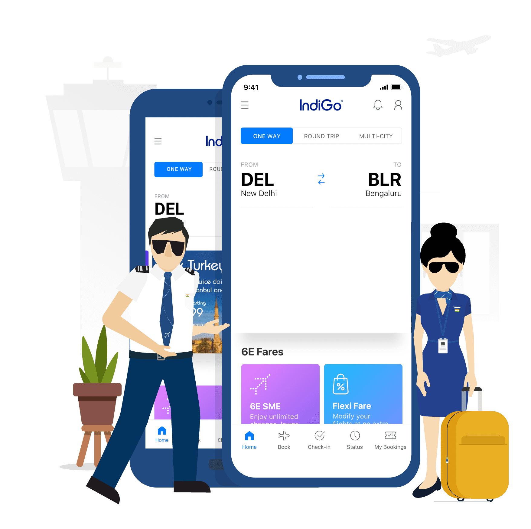Download IndiGo App for iPhone or Android Mobile IndiGo